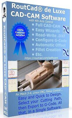 Cad Cam Software G-code Mach 3-4 Linux Emc2 Fanuc Cnc3040 Mill 4 Axis Download