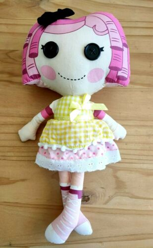 Lalaloopsy Crumbs Sugar Cookie Soft/Plush Doll  By Fiesta Toy 35cm H