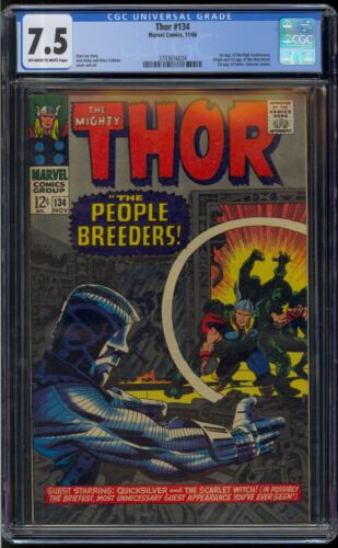 Marvel Comics Thor #134! CGC 7.5! 1st Appearance of the High Evolutionary!