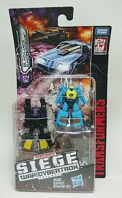 NEW Transformers Siege Micromasters Sports Car Patrol Blackjack & Hyperdrive