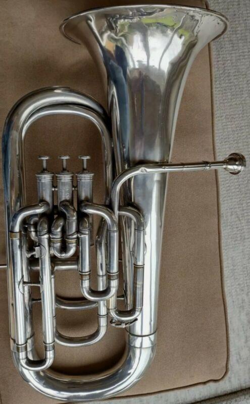 Vintage 4-valve Boosey and Co. Euphonium Bb