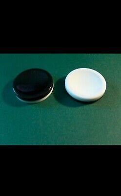 Gabriel Othello 4 Black//White Disks Pieces Parts Game Replacement Plastic Pieces