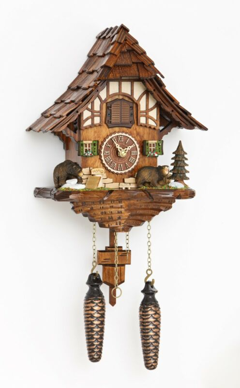 Baiersdorf 54000 Black Forest Cuckoo Clock Bears  by Hermle
