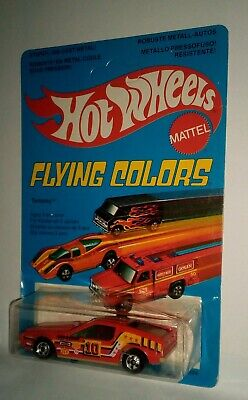 Hot Wheels Flying Colors Turismo Red Blackwalls 1979 Rare