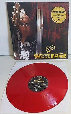 Evo Warfare Red Vinyl Lp Record New Lips From Anvil   Fast Eddie Clarke