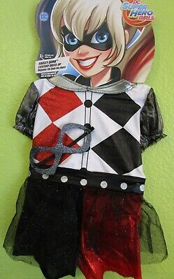 DC Comics HARLEY QUINN Dress Up Costume Size 4 - 6X Brand New Super Hero Girl](Super Girl Costume)