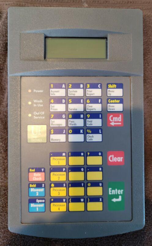 Unitec POS 4000 wash code system