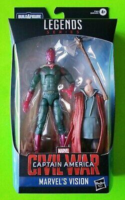 """Marvel Legends Avengers Civil War 6"""" Vision (Endgame THOR BAF) - NEW/SEALED"""