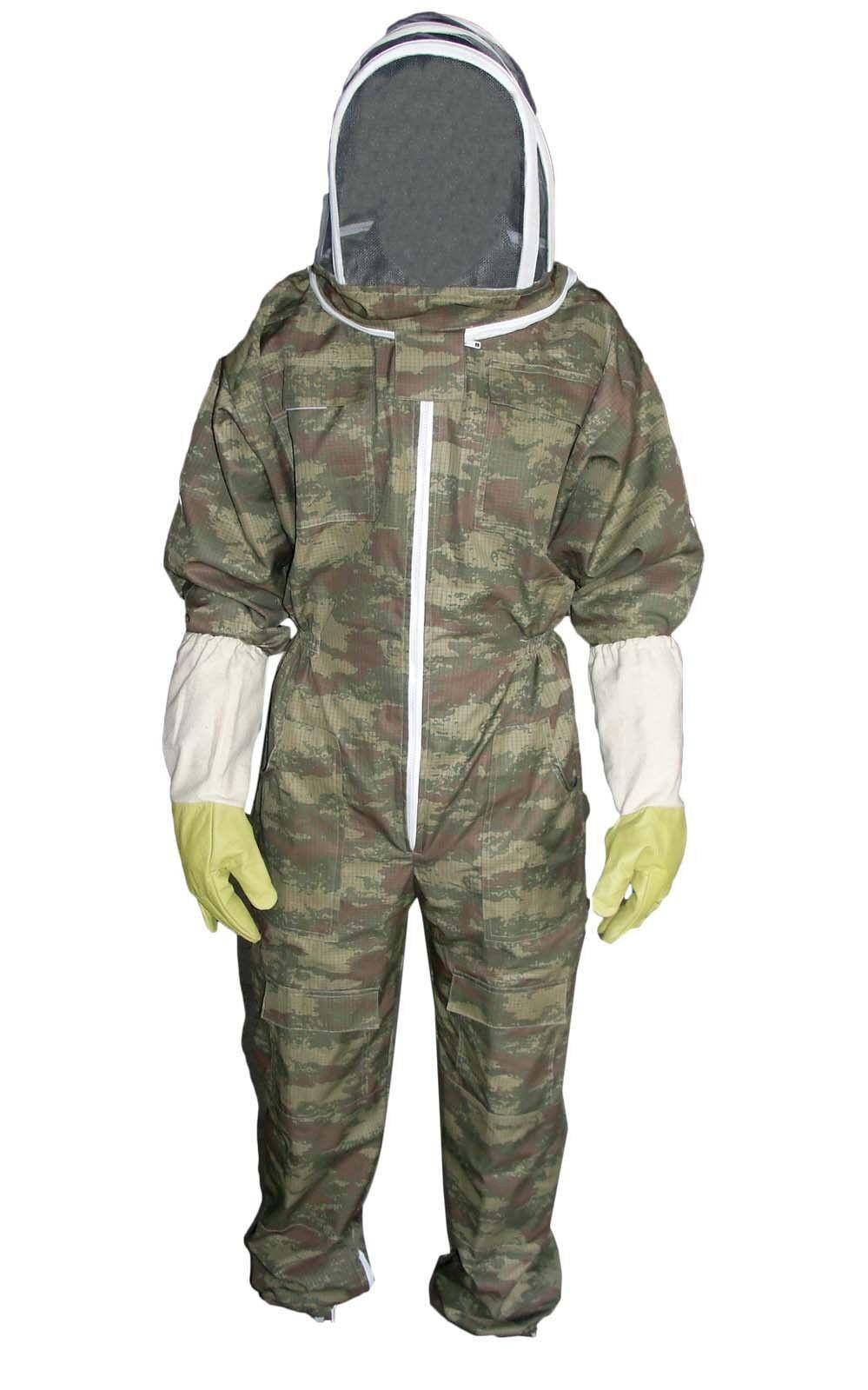 Kids Beekeeping Suit,children Beekeeper Suit, Veil Free Glove Camouflage