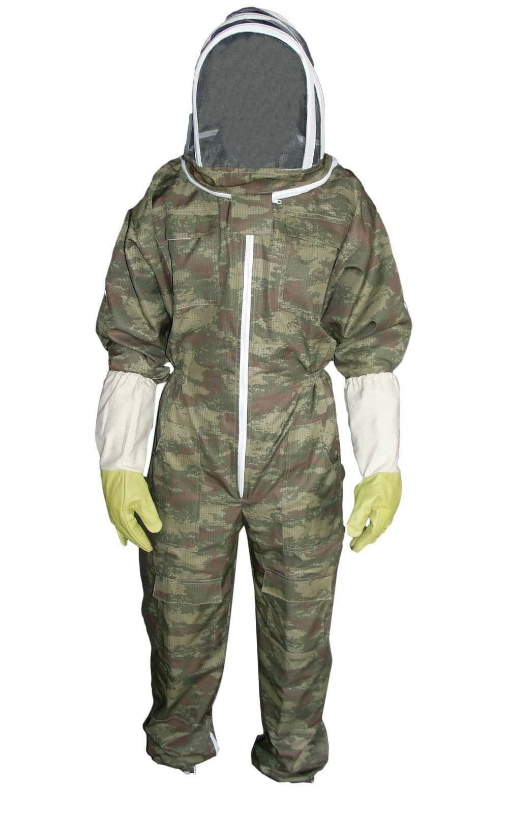 Kids Beekeeping Suit,children Beekeeper Suit, Veil Free Glove Camouflage