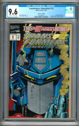 Transformers: Generation 2 #1 (1993) CGC 9.6  OW/W Pages  Furman - Yaniger