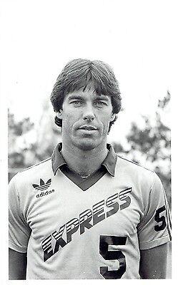 1980 Original Photo Detroit Express soccer player & footballer Graham Oates](Soccer Player Photo)