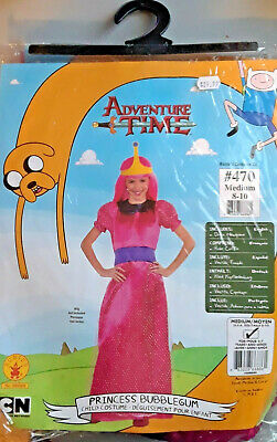 Princess Bubblegum Clothes (New Awesome Adventure Time Princess Bubblegum Costumes Tween M &)
