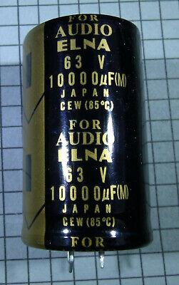 10000uf 63v 30x50mm Elna Audio Electrolytic Snap In Capacitor 1pcs Per Lot