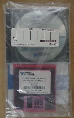 National Instruments 488.2 Software Gpib 232485ct-a Ver.2.7