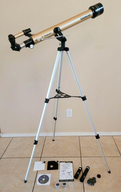 Tasco Luminova 40-060660 60mm Refractor Telescope 800mm 3 eyepieces