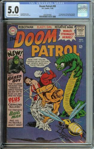 Doom Patrol #99 CGC 5.0 1st App of Beast Boy