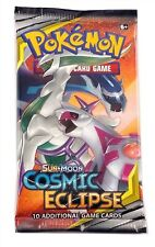 Pokemon SM12 Cosmic Eclipse, 1 Single Loose Booster Pack New