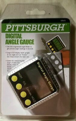 Pittsburgh Digital Angle Gauge 63615- Magnetized- New