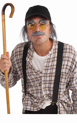 Old Man Disguise Kit - Costume Accessory Disguise Kit