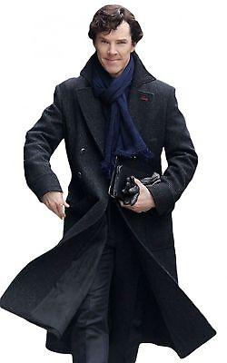 Sherlock Holmes Benedict Cumberbatch Consult Detective Black Woolen - Benedict Cumberbatch Kostüme
