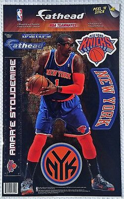 Amare Wall - AMARE STOUDEMIRE FATHEAD TEAMMATES NEW YORK KNICKS LOGO WALL GRAPHIC SET NBA HTF