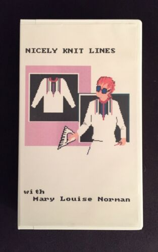 NICELY KNIT LINES VIDEO by Mary Louise Norman - Pattern Drafting for Mach Knits