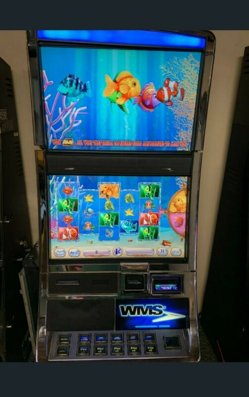 GOLDFISH 3 WMS Blade Dongle Game SLOT Software Williams Bluebird 3 BB3