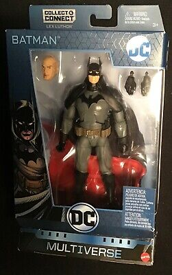 "DC Multiverse 6"" GASLIGHT BATMAN ACTION FIGURE Mattel Collect Connect Lex Luthor"