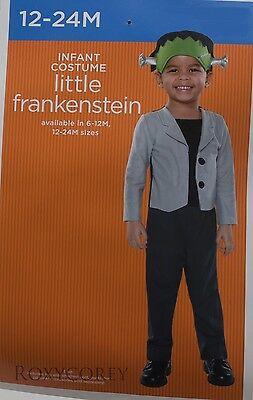 Halloween Infant Toddler Little Frankenstein Costume Size 12-24 months NWT (Toddler Frankenstein)