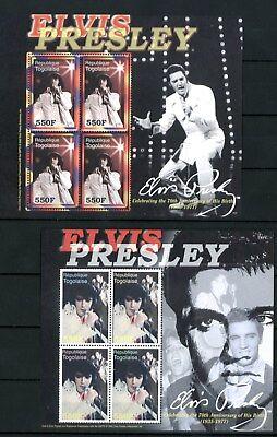 Togo 2006 - 70. Geburtstag von Elvis Presley - The King - komplette Ausgabe