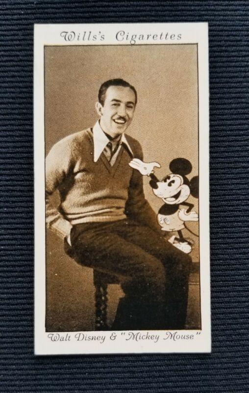1931 Walt Disney - Wills Cinema Stars 3rd Series card #24  about NM-MT Condition