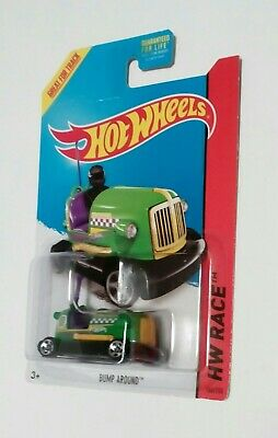 2014 Hotwheel (166/250) HW Race Track Aces BUMP AROUND Green new unopened card