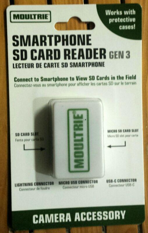 Moultrie Gen 3 Smartphone SD Card Reader MCA-13488