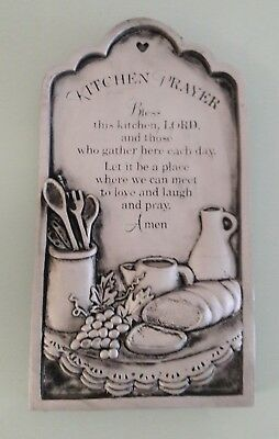New Kitchen Prayer Wall Plaque 7