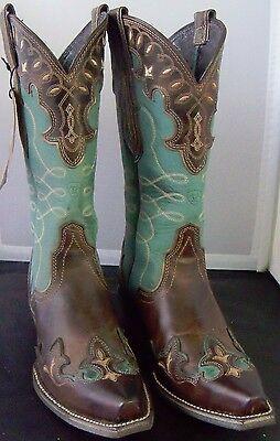 Ariat Womens 10015347 Zealous Wingtip Western Boots