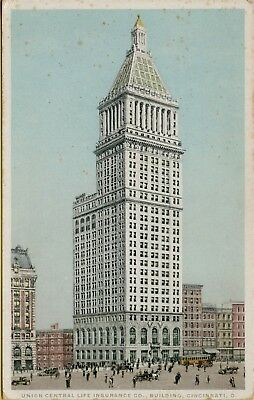 Union Central Life Insurance Building Cincinnati Oh Postcard C24