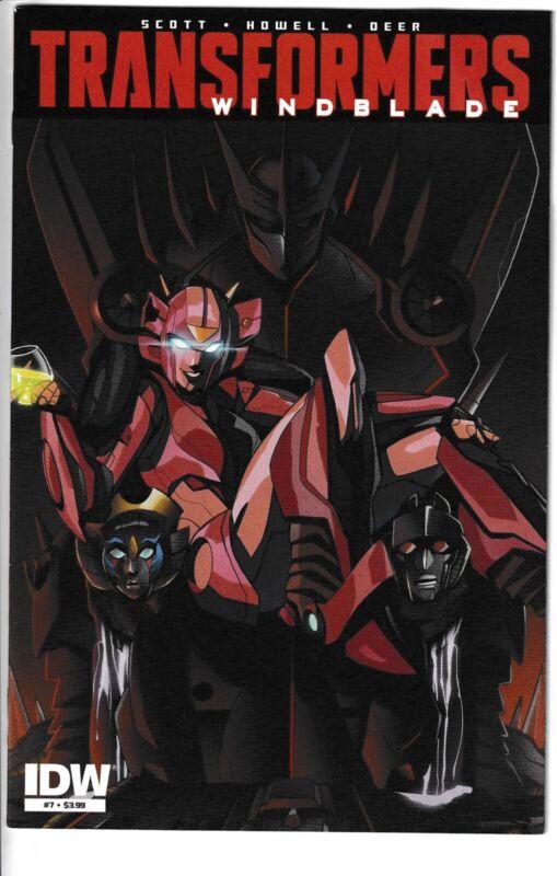 Transformers Windblade #7   NOS!!