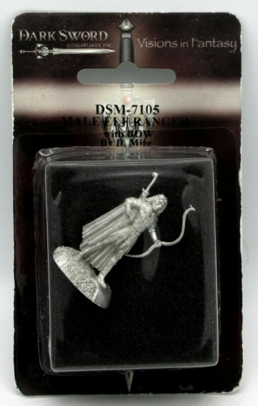 DARK SWORD MINIATURES DSM7342 Male Feral Elf w//Spear