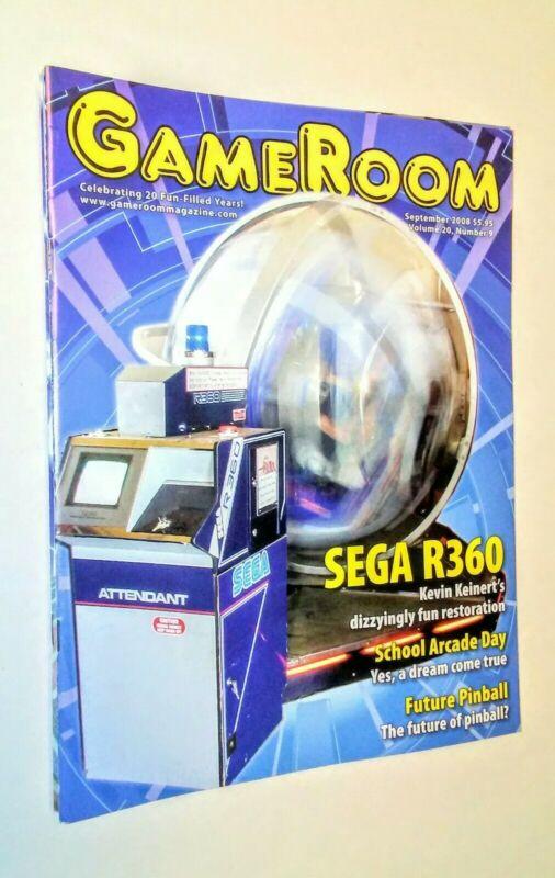GAMEROOM SEPT 2008 SEGA R360