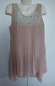 BEIGE TUNIC TOP.   BRAND: FILO.    SIZE 18. Redcliffe Redcliffe Area Preview