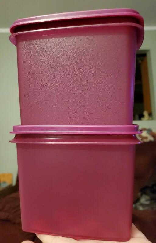 New TUPPERWARE Within Reach SHELF SAVER CANISTER Dry Goods FREE US SHIPPING