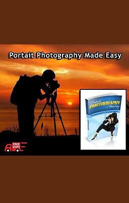Portrait Photography Made Easy Ebook - 25 Pages Resell Rights FREE SHIPPING pdf
