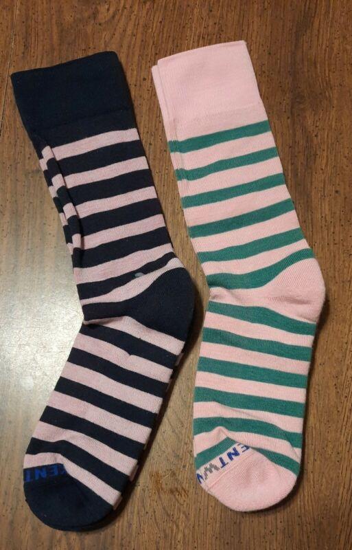 SALE! GOLFSocks! 2 Pr Kentwool 19th hole XL Shoe Sz 12-15 Pink-Green Pink-Blk
