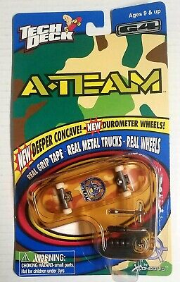 1999 Vintage Tech Deck A-Team Series 4590 Item 4591 NEW UNOPENED Fingerboard