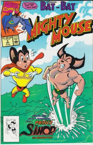 MIGHTY MOUSE (Marvel, 1990 Series) #3 Dec-1990 NEAR MINT