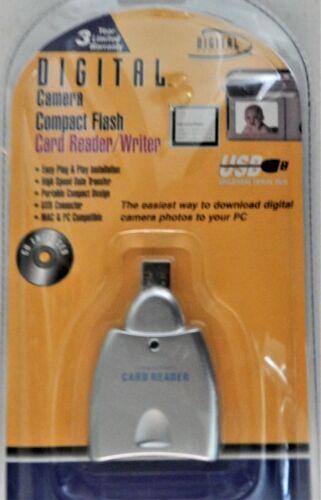Digital Camera Compact Flash Card Reader Writer Digital Concepts CR-10 new