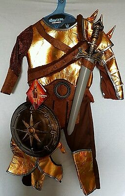 BOYS TEETOT ROMAN GLADIATOR 5 PC DRESSING UP SET FANCY DRESS 3-4 YEARS