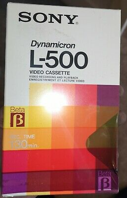SONY L500 Betamax x5 brand new sealed cheapest anywhere surplus stock