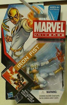 Marvel Universe 3 3/4 Inch Action Figure 3.75 Iron Fist White Costume - Green Goblin Costume Kids